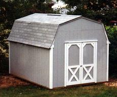 10x12 Barn Shed with SmartSide wood siding