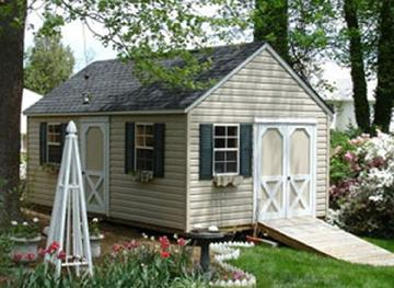 Sheds built on site in Virginia by Sheds by Ken